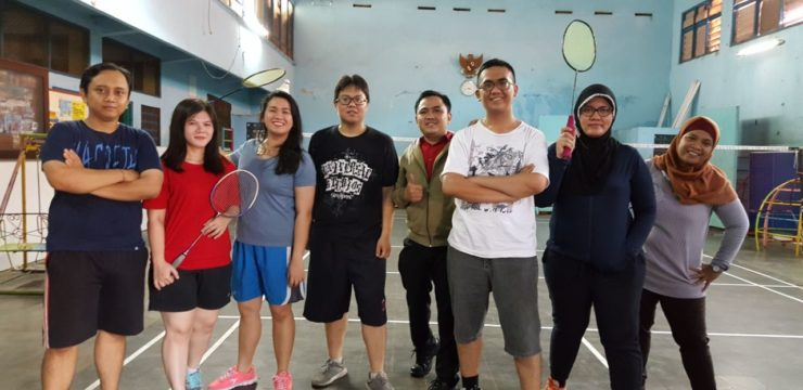 PPDS IN ACTION (BADMINTON)