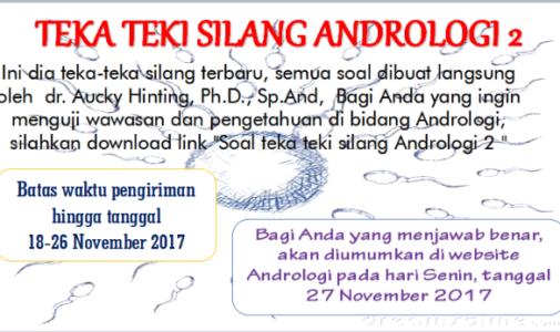 TEKA-TEKI SILANG ANDROLOGI 2