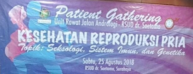 HUT URJ Andrologi-Patient Gathering