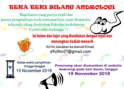 Update Announcement TTS ANDROLOGI 2018